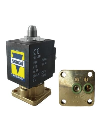 Sirai solenoid 3 way valve 24V AC