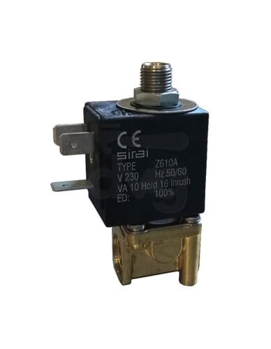 "Sirai 3 way solenoid valve 1/8"" 1/8""230V 50/60Hz"
