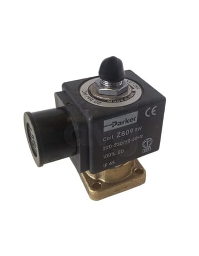 Parker 3 way solenoid 110V 50/60Hz conical