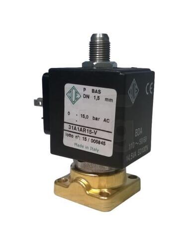 Ode solenoid valve 3 ways 110V 50/60 Hz