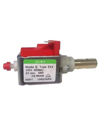 Ulka Vibration pump EP5 230V 50/60Hz with brass outlet