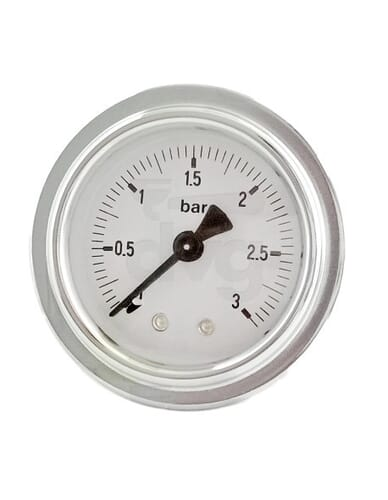 Gaggia TEL manometer 0 - 3 bar boiler
