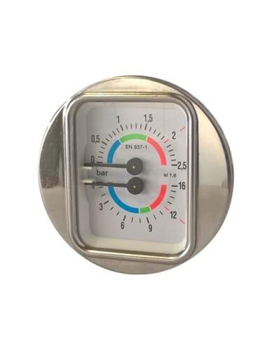 Manometer 0-2,5 bar 0-16bar 1/8 D.63