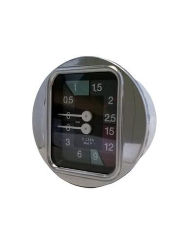 Faema pump boiler manometer D.63 0-2.5 0-15 bar