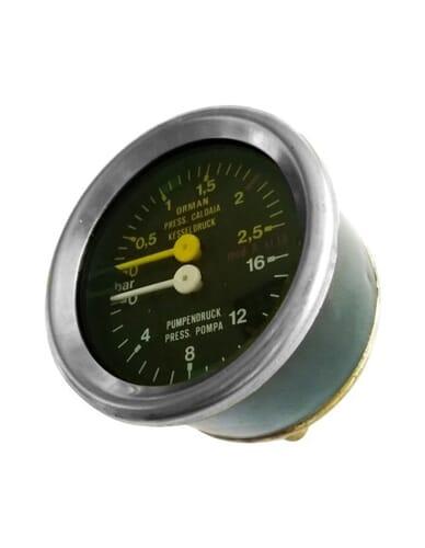 La Cimbali boiler pomp manometer 0 - 2.5 / 0 -16 bar
