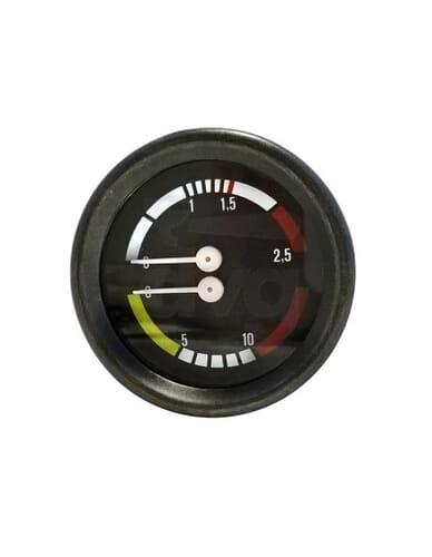 Astoria boiler pump manometer 0-2 / 0-16 bar