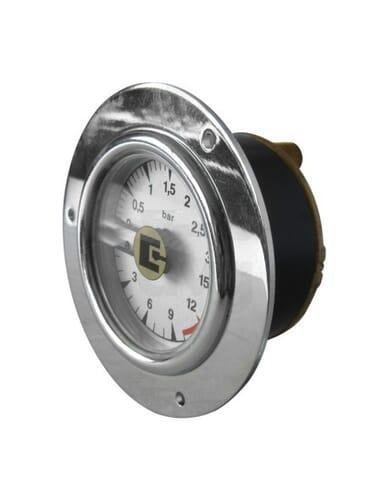 San Remo boiler pump manometer 0-3 / 0-15 bar