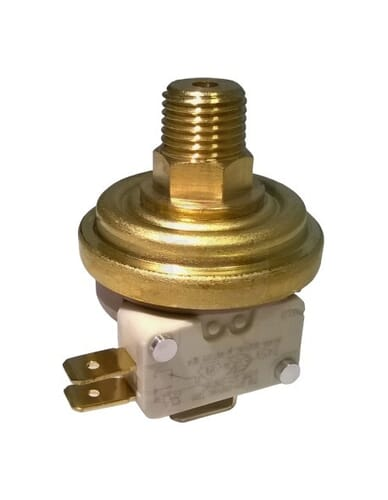 Pressure switch 0.4 - 1,3 Bar 1/4""
