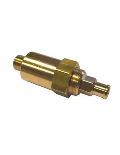Expansion valve 1/4M adjustable 10-14 Bar