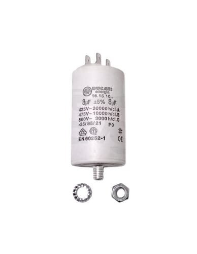 Capacitor 8μF 500V