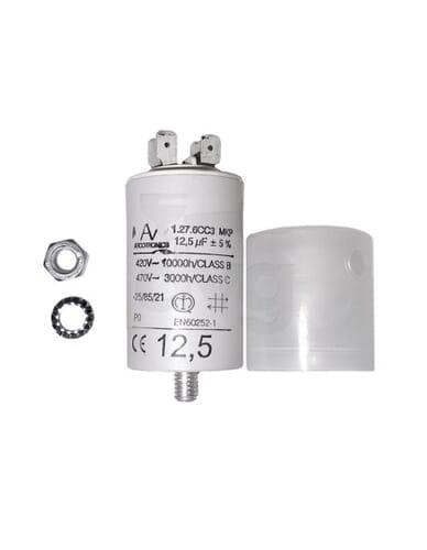 Capacitor 12,5μF 450V