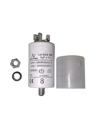 Capacitor 8μF 450V