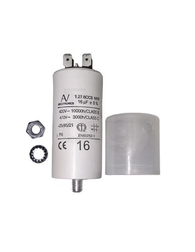 Capacitor 16μF 450V