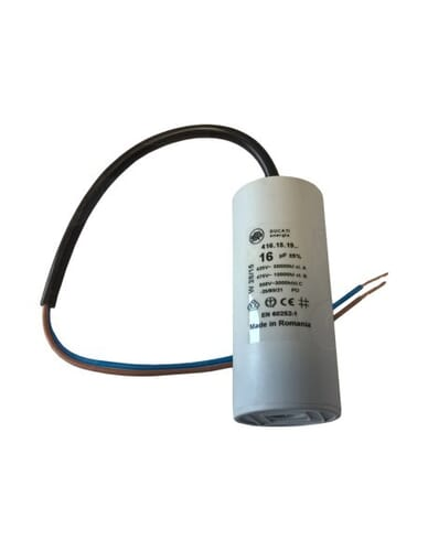 Capacitor 16μF 450V with cable