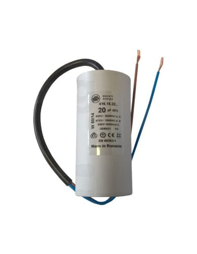 Capacitor 20μF 450V with cable