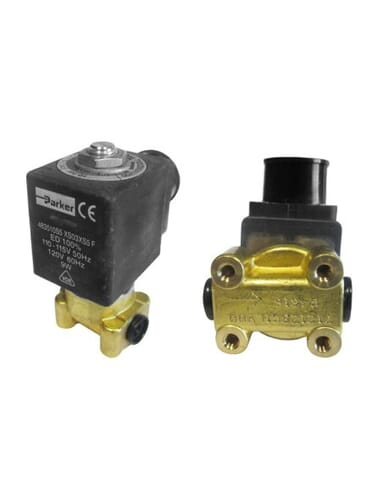 "Lucifer solenoid valve 2 way 1/8"" 1/8"" 110/120V 50/60Hz"